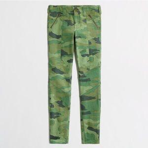 J.Crew Factory skinny jean in camo